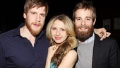 Good People Opening Night  Zachary Spicer  Nina Arianda  Jay Wilkison 