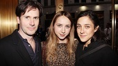 Arcadia opens - Josh Hamilton - Zoe Kazan - Lily Thorne 