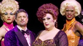 Show Photos - La Cage aux Folles - Christopher Sieber - Harvey Fierstein - cast