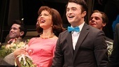 Rose Hemingway and Daniel Radcliffe made an adorable onstage couple as Rosemary Pilkington and J. Pierrepont Finch.