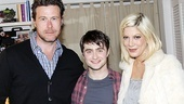 Tori Spelling Visits Daniel Radcliffe  Dean McDermott  Daniel Radcliffe  Tori Spelling
