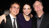 Anything Goes Opening Night  Rob Fisher  Sutton Foster  Jim Carnahan