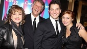 Catch Me If You Can Opening Night  Patti LuPone  Matthew Johnston  Joshua Johnston  girlfriend
