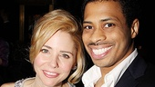 Catch Me If You Can Opening Night  Kerry Butler  Chester Gregory