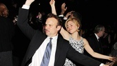 Catch Me If You Can Opening Night  Norbert Leo Butz  Kerry Butler