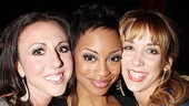 Catch Me If You Can Opening Night  Kristin Piro  Candice Marie Woods  Sara Andreas
