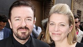 Motherf**ker  Ricky Gervais  wife Jane Fallon