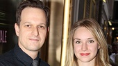 Motherf**ker Opening Night – Josh Charles – girlfriend Sophie Flack
