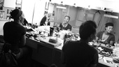 Day in the Life of Christina Sajous  Erica Ash (dressing room mirror)