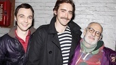 David Furnish at The Normal Heart  Jim Parsons  Lee Pace  Larry Kramer