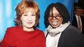 Sister Act Opening Night   Joy Behar  Whoopi Goldberg 