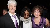 Sister Act Opening Night   Bill Steinkellner  Whoopi Goldberg  Cheri Steinkellner 
