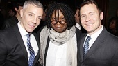 Sister Act Opening Night   Tom Leonardis -  Whoopi Goldberg -  Keith Harris