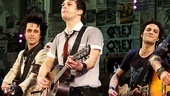 American Idiot leading men Billie Joe Armstrong, Van Hughes and Justin Guarini break out their guitars for one final encore of Good Riddance (Time of Your Life).