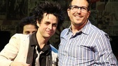 Green Day's Billie Joe Armstrong wrote American Idiot's book alongside director Michael Mayer.