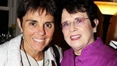 Billie Jean King at The Normal Heart –Ilana Kloss – Billie Jean King