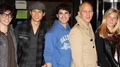 Glee NYC  Kevin McHale - Harry Shum Jr.  Darren Criss  Ryan Murphy  Heather Morris
