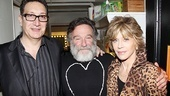 Bengal Tiger director Moises Kaufman and Jane Fonda (who worked together on 2009s 33 Variations) sandwich Tiger star Robin Williams.