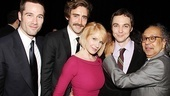 The Normal Heart Opening Night  Luke Macfarlane  Lee Pace  Ellen Barkin  Jim Parsons  George C. Wolfe