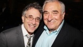 Broadway vets and People in the Picture co-stars Chip Zien and Hal Robinson laugh it up on their latest opening night.
