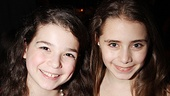Think People in the Picture cuties Maya Goldman and Rachel Resheff coordinated their opening night outfits? 