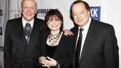 Lyricist Mike Stoller, bookwriter Iris Rainer Dart and composer Artie Butler are overwhelmed to see their labor of love on a Broadway stage. 