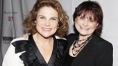 Broadway vet and theater first-nighter Tovah Feldshuh welcomes Iris Rainer Dart to Broadway with open arms.