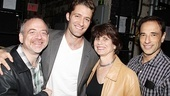 Matthew Morrison at Catch Me If You Can  Marc Shaiman  Matthew Morrison  Margo Lion  Hal Luftig