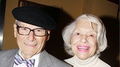 Carol Channing brought along husband Harry Kullijian for support. 