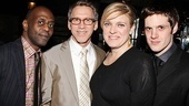 A nice cast shot of K. Todd Freeman, Stephen Spinella, Molly Price and Michael Esper.