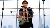 Daniel Radcliffe salutes everyone who voted for me after winning Favorite Actor in a Musical for How to Succeed, which took home four of the evenings 16 awards.