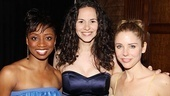 Look who raised their voices at this sensational gala: Montego Glover of Memphis, Wicked alum Mandy Gonzalez and Kerry Butler of Catch Me If You Can.
