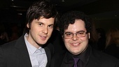 Arcadia's Tom Riley chats up The Book of Mormon's Josh Gad.