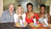 "Serendipity owner Stephen Bruce is thrilled to present Ashley Spencer, Jacqueline B. Arnold and Anastacia McCleskey with the ""Diva-licious"" sundae."