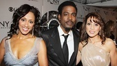 2011 Tony Awards Red Carpet  Malaak Compton Rock - Chris Rock - Elizabeth Rodriguez 