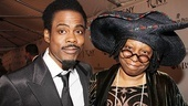 2011 Tony Awards Red Carpet  Chris Rock - Whoopi Goldberg 