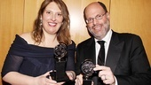 2011 Tony Awards Winners Circle  Anne Garefino  Scott Rudin