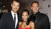 2011 Tony Awards Red Carpet  Matt Stone - Nikki M. James - Trey Parker