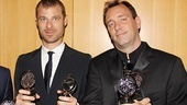 2011 Tony Awards Winners Circle  Matt Stone  Trey Parker