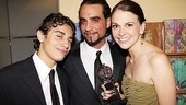 2011 Tony Awards Winners Circle  Jake Cannavale  Bobby Cannavale  Sutton Foster