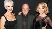 Velma, Roxie & Billy: The pop superstar gets between Chicago leading ladies Amra-Faye Wright and Christie Brinkley.