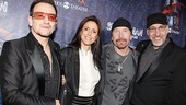 Spider-man opening  Bono  Julie Taymor  The Edge  Phillip William McKinley