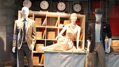 How to Succeed Stars at Lord & Taylor – window 3