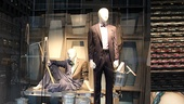 How to Succeed Stars at Lord &amp; Taylor  window 2
