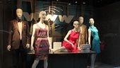 How to Succeed Stars at Lord &amp; Taylor  window 1