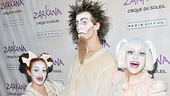 Zarkana opening night – Zarkana clowns