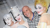 There is nowhere Cirque du Soleil Founder Guy Laliberte would rather be than surrounded by his talented performers!