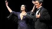 Roger Rees presents his lovely new leading lady, Brooke Shields.