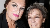 A portrait of two great ladies of the theater: Tyne Daly and Zoe Caldwell.