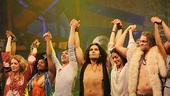 Hair Opening Night 2011 – curtain call group